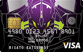 EVA style VISA CARD エヴァンゲリオン EVA01