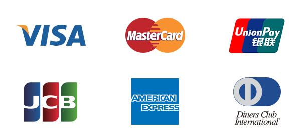 クレジットカードの国際主要ブランド