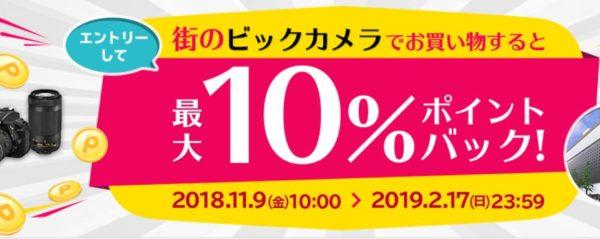 PayPay ビックカメラ 楽天ポイント キャンペーン