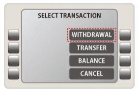 海外キャッシング ATM 引き出す